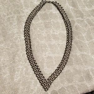 Handmade ladies chainmaille necklace